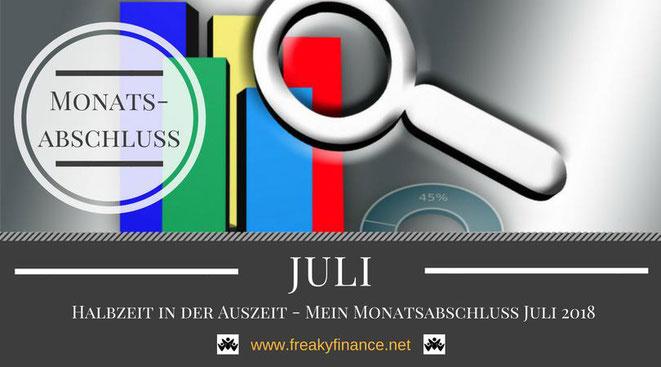freaky finance, Monatsabschluss,Juki 2018, Statistik, Balkendiagramm, Lupe