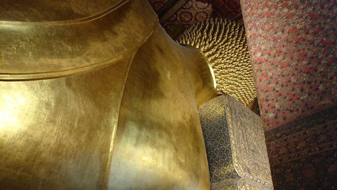 freaky finance, freaky travel, Zinskraft, Gstartikel, Thailand, Bangkok, Nepp, Reclining Buddha, Wat Pho