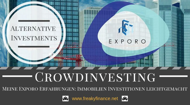 Erfahrungen mit Exporo, digitale Immobilieninvestments, Exporo Immobilien-Crowdinvesting Erfahrungen, freaky finance, alternative Investments, Crowdinvesting, Haus, Kredit, Euroscheine, Bonus