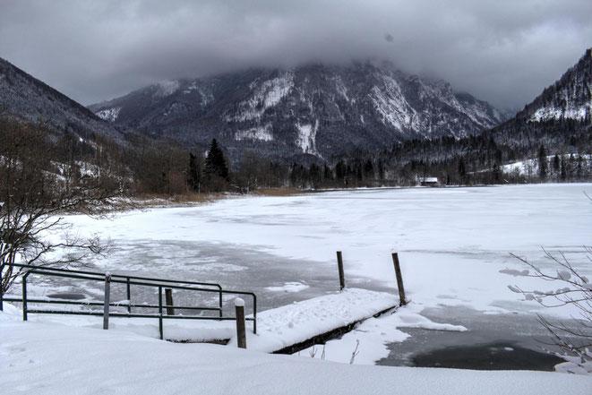 freaky travel, Finanzlady, Gastartikel, Mostviertel, Niederösterreich,Lunzer See im Winter