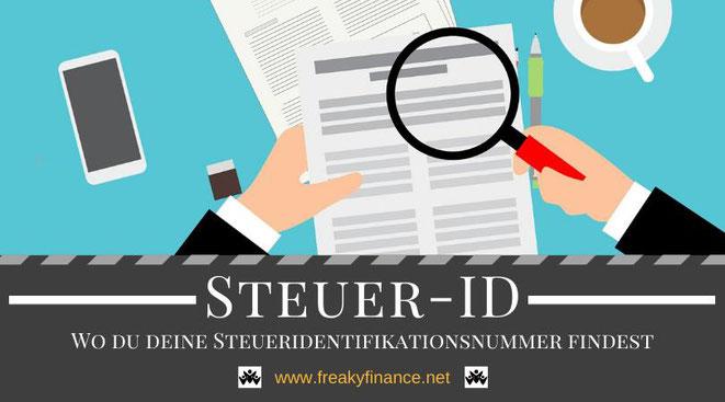Steueridentifikationsnummer, Wo Steueridentifikationsnummer finden, Steuerliche Identifikationsnummer suchen, Steuer-ID erfragen wenn verloren, Dokument, Steuern