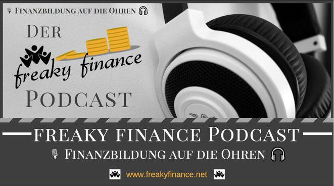freaky finance Podcast: Finanzwissen auf die Ohren. Finanzblog rund um die Themen Finanzen und Diversifikation untermauert mit Real-Life-Erfahrungen