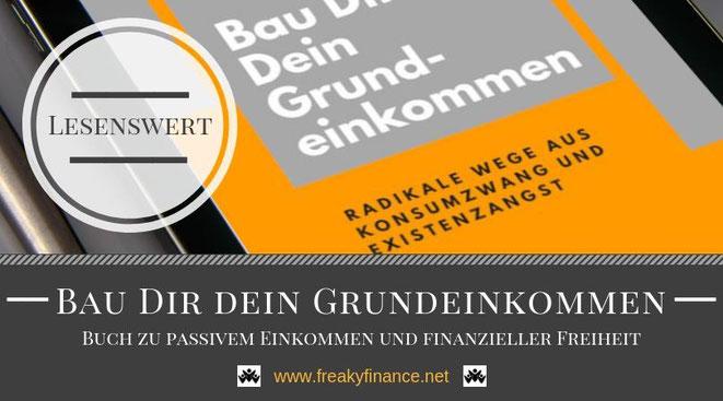 Buchvorstellung, Bau Dir Dein Grundeinkommen, Giesela Enders, Buchcover, freaky finance