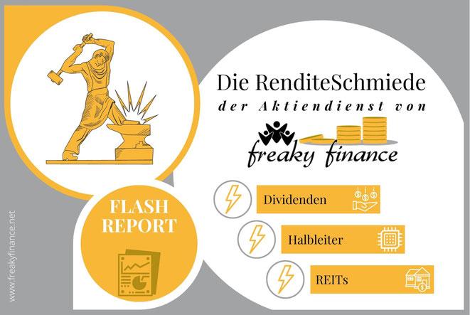 freaky finance, RenditeSchmiede, Aktiendienst, Börsenbrief, Outperformance, Überrendite, Schmied, Flashreport