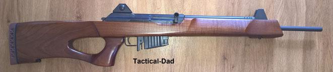 In der Zeit des deutschen Anscheinswaffenparagraphen wurde in den USA auch ein Import Ban für Assault Rifles erlassen. Das Hadar eignete sich daher zum Verkauf in beiden Ländern.