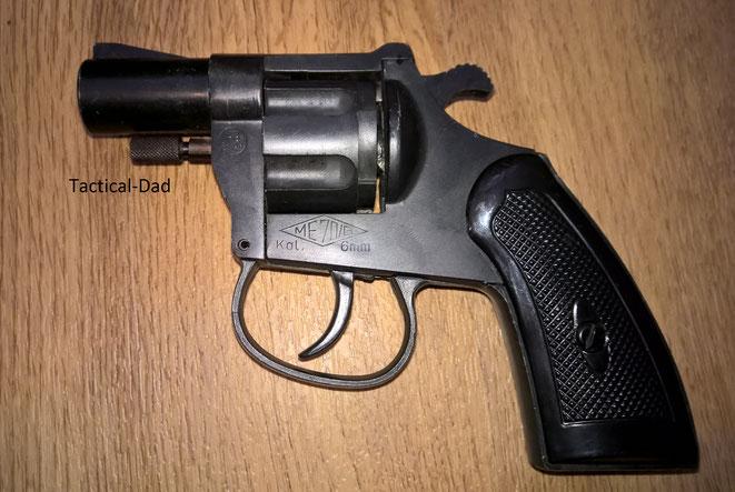 ME 70/G 6mm Flobert Revolver mit PTB Zulassung.