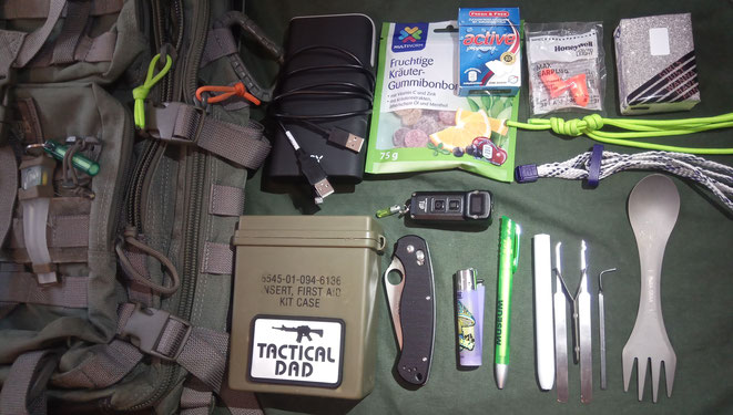 Mein Maxpedition Rucksack begleitet mich schon viele Jahre. Er ist für mich die zentrale Plattform für alle taktischen Plaungen.