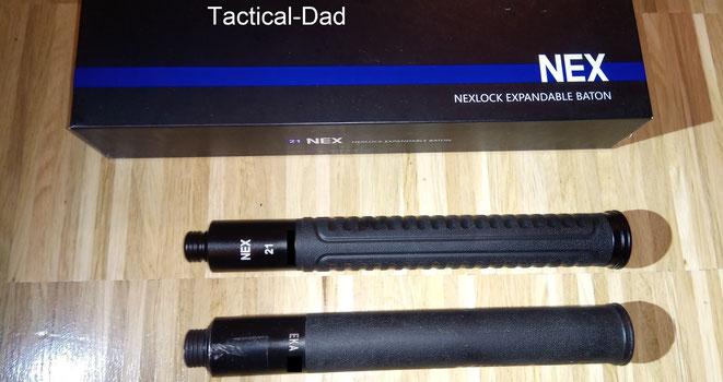 Der Nexlock und der EKA sehen zwar fast gleich aus, aber in den letzten 10 Jahren hat sich in der Entwicklung doch etwas getan und der Nexlock ist VIEL leichter.