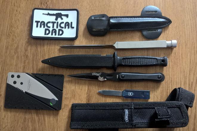Klein, billig, verborgen.... Das Messer ist die Tatwaffe Nr. 1 in Deutschland. Und daran werde Gesetzesverschärfungen niemals etwas ändern. Und das beweist die Kriminalitätslage in England.