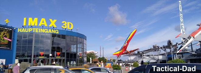 Die große Besonderheit am Technik Museum Sinsheim ist, dass man sehr viele Flugzeuge von innen besichtigen kann.