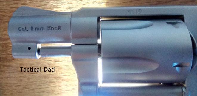 Der Trommelspalt des HW88 Super Airweight ist winzig und perfekt.
