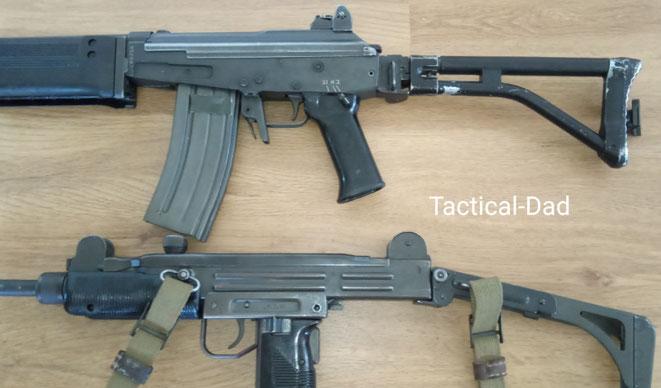 """Mit Waffen kann man Geschichte erleben, Technik verstehen und auf dem Schießstand viel Spaß haben. Das Galil und die UZI sind aber """"nur"""" Dekowaffen."""