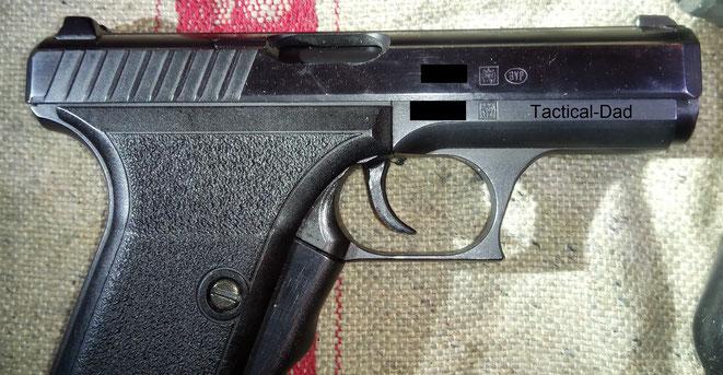 Heckler und Koch P7 Pistole.