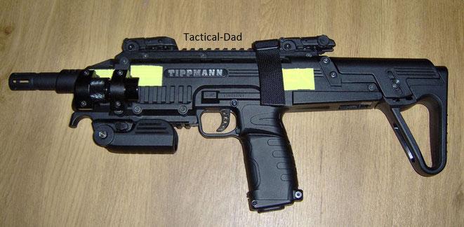 Tippmann TCR zur Selbstverteidigung mit Rubberballs und