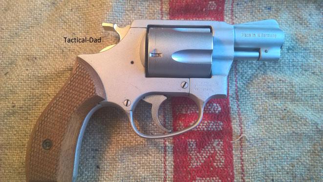 Der HW88 Airweight Revolver von Arminius / Weihrauch.