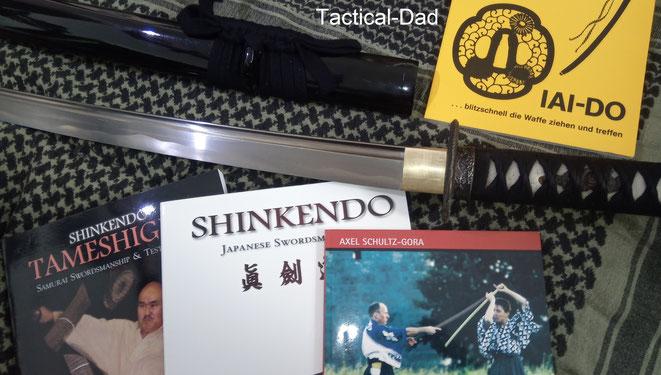 """In den Zeiten meines Lebens, wo die körperlichen Anstrengungen hoch und der psychische Stress besonders belastend war, schuf ich mir einen Ausgleich mit der Kampfkunst """"Iaido"""", also dem Ziehen des Schwertes."""