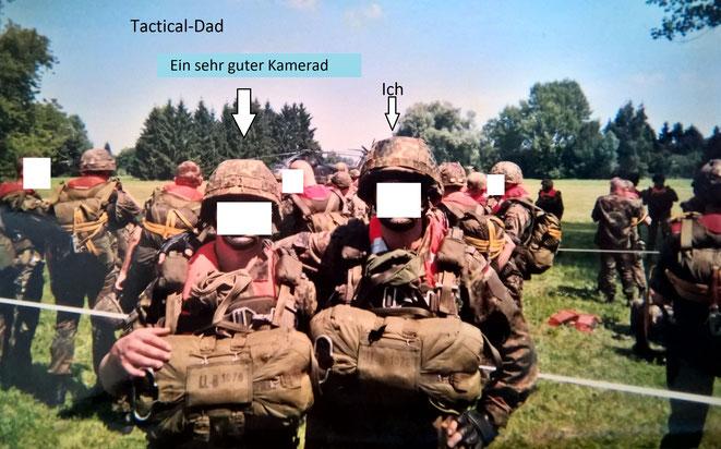 Das Fallschirmspringen und die Fliegerei war ein bedeutender Teil meines Lebens. Und uns Soldaten verband eine enge Kameradschaft.
