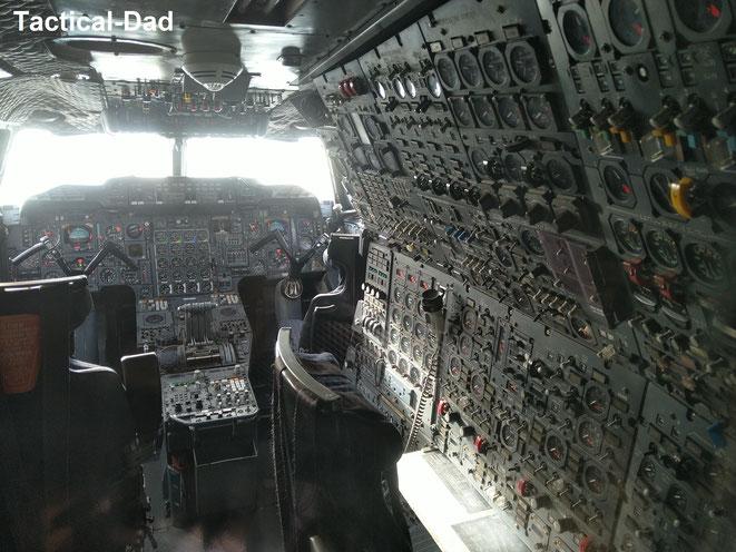 Das Cockpit der Concorde lässt jedes Männerherz höher schlagen.