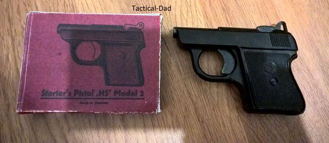 HS Modell 2 Startpistole. (HS2 Pistol)