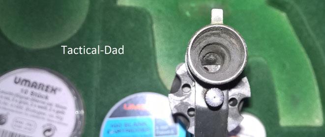 ME 70/G Revolver mit dreistufigem integriertem Abschussbecher für 7mm, 9mm und 15mm Leuchtsterne.