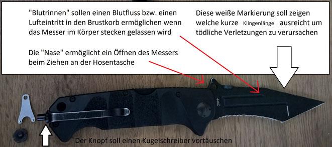 Das Böker Reality Bades Messer ist sehr durchdacht und viele Besitzer kennen seine Funktionen überhaupt nicht.