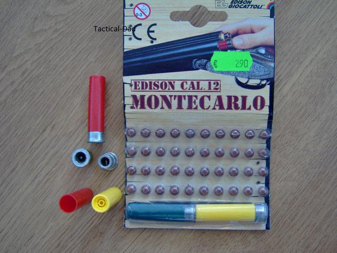 Munition für das Montecarlo Spielzeuggewehr
