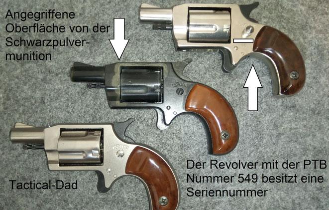 Die früheren Modelle des Röhm Little Joe weisen noch keine Seriennummer auf.