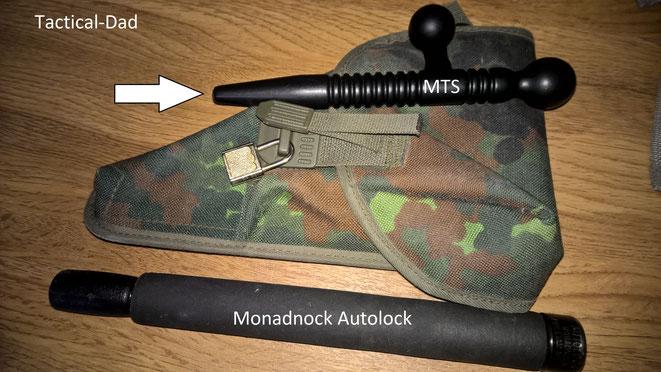 """Auch die Koppeltaschen von der Bundeswehr lassen sich """"verschließen"""". Evtl. kann man die Verschlüsse auch an andere Taschen nähen."""