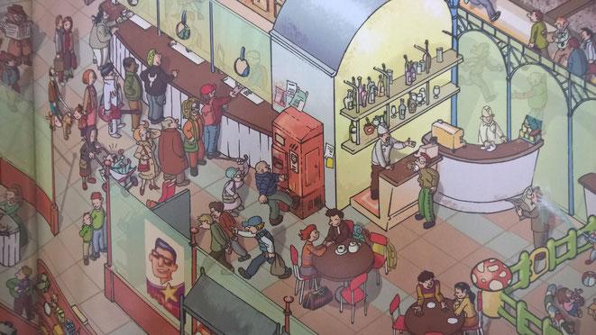 """""""Ein ganzer Tag auf dem Bahnhof"""" ist ein super Buch um Kindern die wirkliche Arbeit von Polizisten zu erklären... ;-)"""