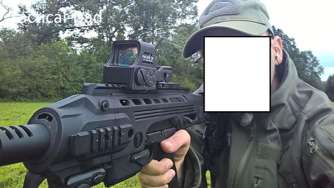 Das Roni für meine Glock 17 habe ich gelegentlich zum Jagdschutz verwendet.
