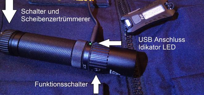 """Zanflare F1 und """"FUN Sunrei"""" Taschenlampen von Gearbest aus China."""