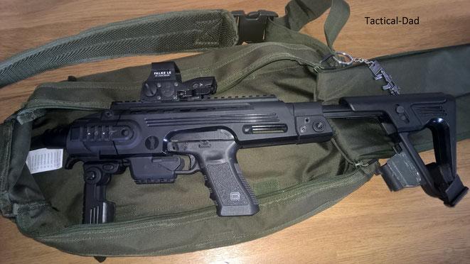 Ich habe bisher nicht viel mit dem CAA Glock Roni anfangen können beim Jagdschutz. Nun habe ich mir aber ein Konzept zurechtgelegt.