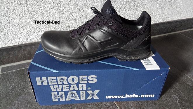 Antistatisch, metallfrei, qualitativ hochwertig, schlicht und von einer bayerischen Firma: Mein Haix Black Eagle Tactical 2.1