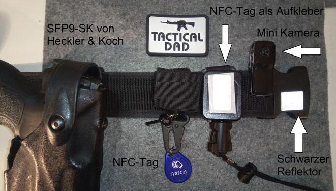 Mit NFC-Tags kann man bestimmte Funktionen des Handys steuern, ohne sich durch das Menü zu wählen.