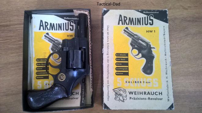 Meine Arminius HW1 Schachtel ist vermutlich von der ältereren Version ohne PTB Zulassung.