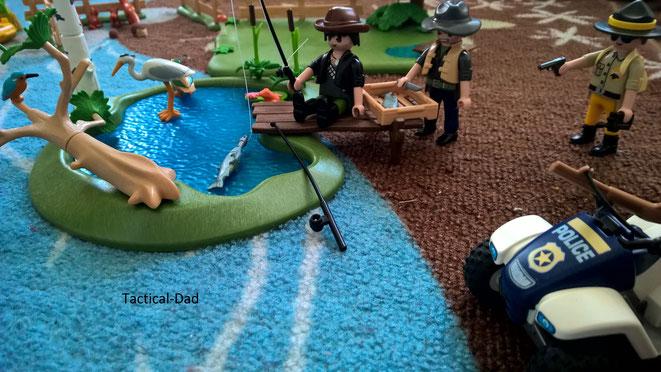 Playmobil Schwarzfischer Vs. Jagdaufseher