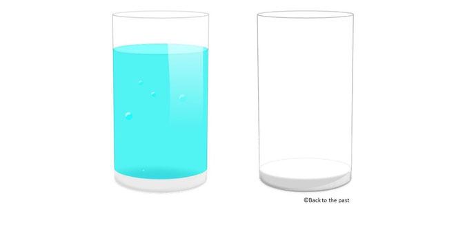 2カップ・メソッド(手順2)
