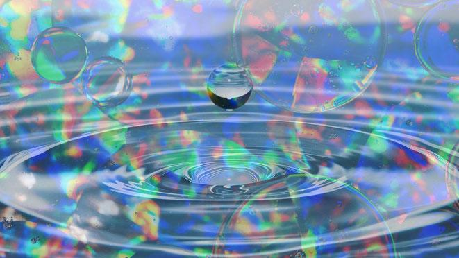 2カップ・メソッド(THE TWO CUP METHOD)水で次元ジャンプイメージ