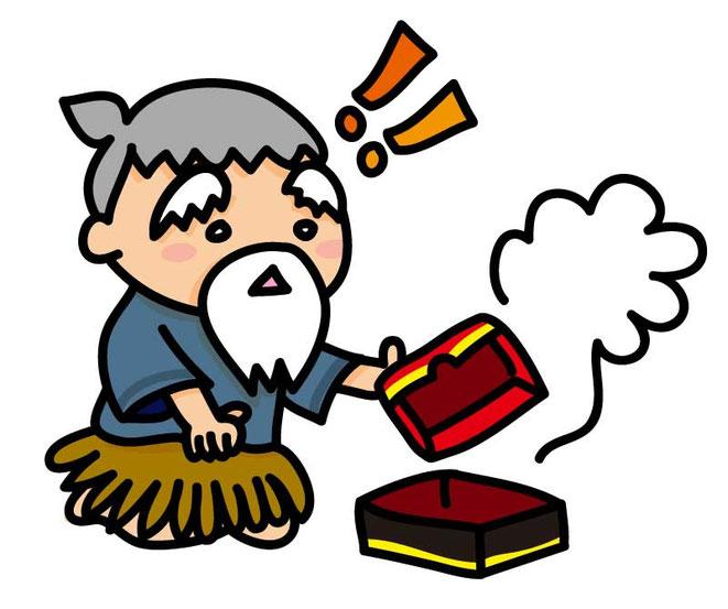 浦島太郎と玉手箱