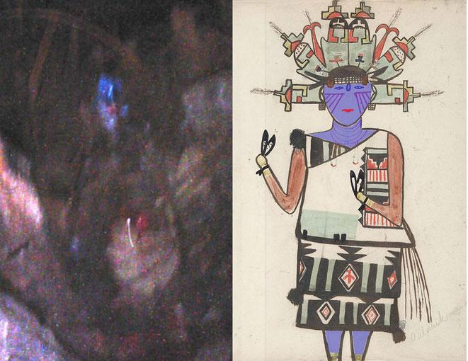 「狭間の人」の写真と「パラヒコマナ」との比較