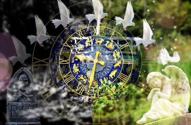 時間と運命イメージ