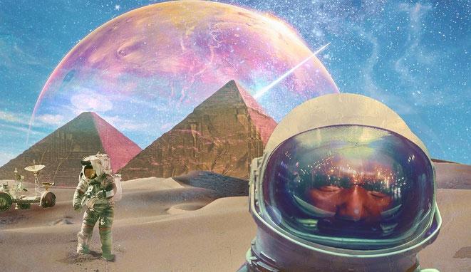 古代の火星探索