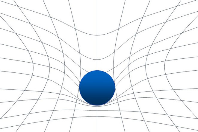 重力は時空の歪み