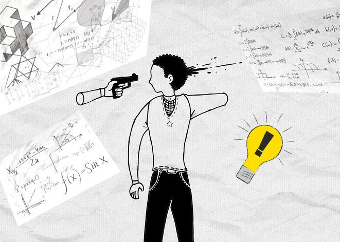 タイムパラドックスの数学的解決イメージ
