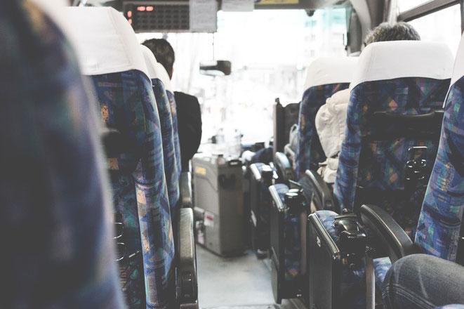 バスの車内イメージ