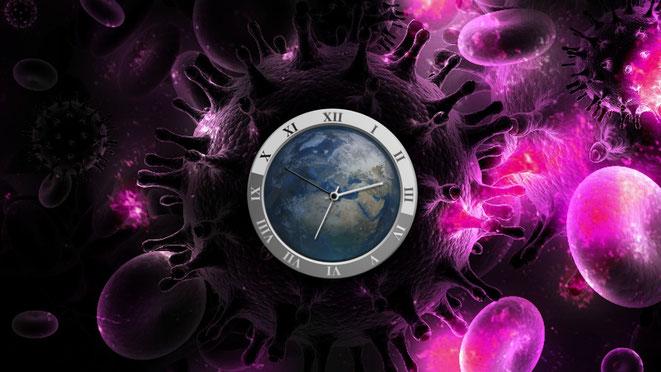 意識と時間イメージ