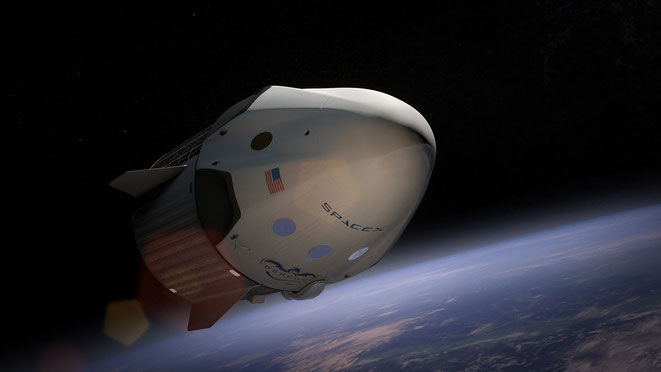 EMドライブの宇宙船イメージ