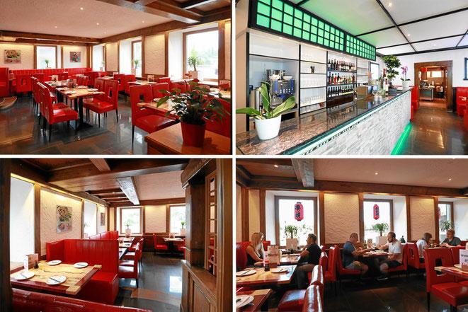 Das neue Restaurant im Fährhaus Waldshut-Tiengen mit fernöstlichem Ambiente