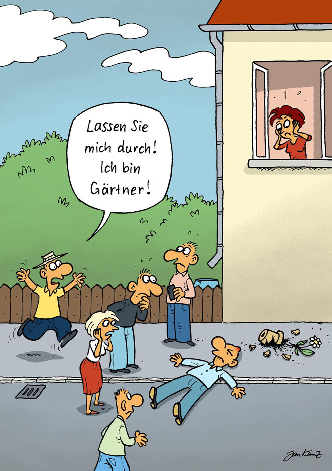Cartoon von Jan Kunz