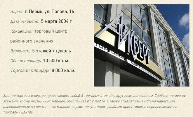 Торговый центр Айсберг Пермь